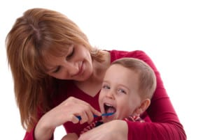 Getting kids excited about brushing